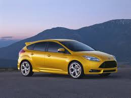 ford focus st yellow review ford focus st wired