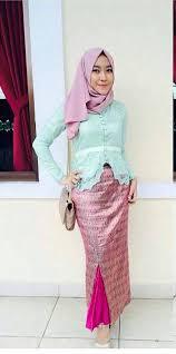 contoh gambar kebaya contoh gambar kebaya brokat muslim model baju terbaru 2018