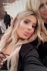 i was feminized by a short hair blonde kim zolciak and lookalike daughter brielle put their cleavage on