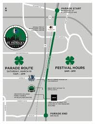 Dart Map Dallas by 8 Things To Know About The Dallas St Patrick U0027s Day Parade Wfaa Com