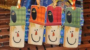 scarecrow bookmark 365 days of crafts diy art and craft