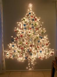 how to put lights on tree wall adding decor