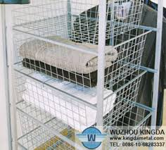 Storage Bookshelves With Baskets by Wire Storage Shelves Mobile Tire Stacking Wire Baskets Display