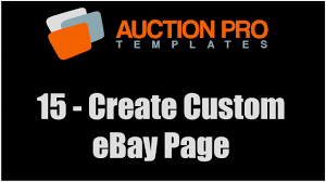 15 how to create and add custom page to ebay store youtube