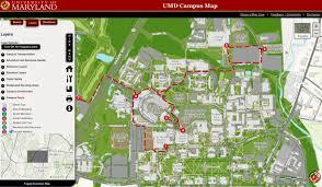 Maryland Map University Of Maryland Web Map Overhaul Brings Interactive