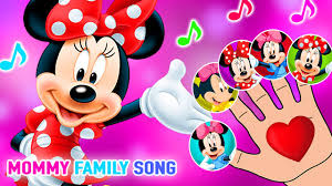minnie mouse and baby mickey finger family song
