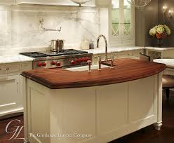 wood tops for kitchen islands walnut wood countertop kitchen island in chicago