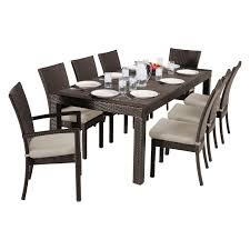 rst brands deco 9 piece patio dining set hayneedle