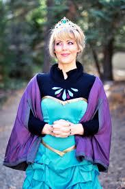 Halloween Elsa Costume Frozen Diy Elsa Costume Short Dress Love