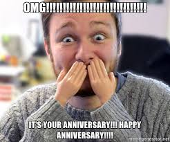 Anniversary Meme - 27 very funny anniversary meme images photos greetyhunt