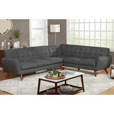 mid century modern sofa with chaise mid century modern sectional sofas for less overstock com