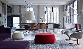 Bedroom Loft Design Plans Apartments Loft Interior Design Ideas Purple Modular Sofa Living