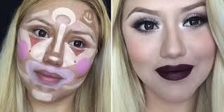 clown contouring is the next makeup trick that will make you look