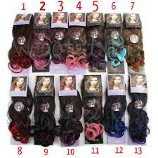 jual hair clip jual hairclip ombre curly banyak warna hair clip korea hair