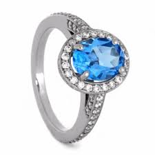 palladium engagement rings swiss blue topaz engagement ring with palladium size 6 25