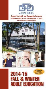 education brochure fall and winter 2014 15 by southern
