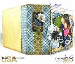 staples photo albums blueberry delight mini album tutorial kathy by design