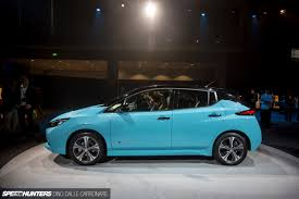 stanced nissan leaf think electric the new nissan leaf speedhunters