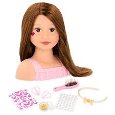 cute hairstyles for our generation dolls our generation styling head talia target