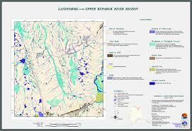 Map Of Alaska Rivers by Toolik Field Station Thematic Maps