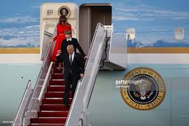 President Weekend President Trump Arrives In Florida For Weekend At Mar A Lago