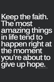 Faith Meme - keep the faith