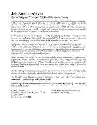 Cover Letter For Manager Job Cover Letter To Volunteer Image Collections Cover Letter Ideas