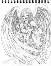 angel warrior by pigbert on deviantart