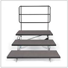 Choir Stands Benches Choral Risers Transfold Midwest Folding Products