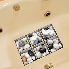 bathtub non slip stickers adhesive square bath treads safety pvc