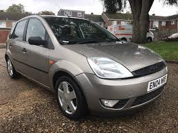 ford fiesta 1 4 2004 5 door manual 66 000 miles full service