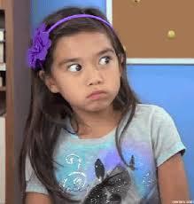Little Girl Face Meme - little girl gif find share on giphy
