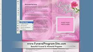 make your own funeral program customize your own template for funerals in ms word funeral