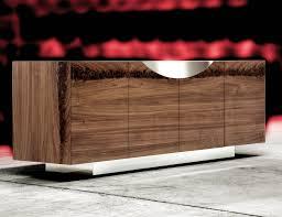 Walnut Sideboard Nella Vetrina Costantini Pietro Edge 9232 Modern Walnut Sideboard