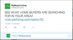 mybuyerlisting real estate agents start listing your buyers