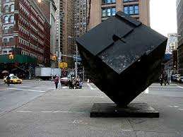 A Place Ny Place Cube The Alamo Astor Place New York Nyc Usa