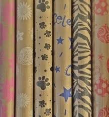 zebra print wrapping paper buy printed kraft paper wrapping paper 30 x 10 rolls pack of