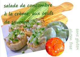 cuisiner concombre food cuisine du monde recette d entrée aux oeufs de saumon