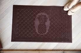 decorative floor mats home flooring entrance floor mats in brown with glass door also
