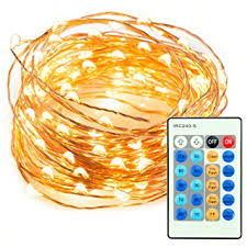 Decorative Lights For Bedroom by 33ft 100 Led String Lights Dimmable With Remote Control