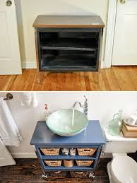 how to redo bathroom cabinets for cheap diy budget bathroom renovation reveal beautiful matters