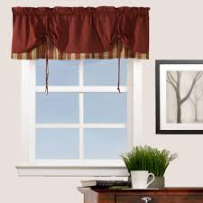 Textured Cotton Tie Top Drape by Tie Up Shades Balloon Curtains Curtainshop Com