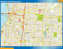 Los Angeles Downtown Map by Downtown Usa Wall Maps Of The World Part 4