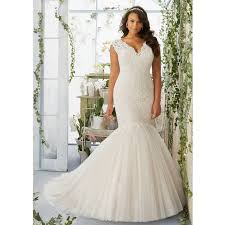 wedding dress for curvy aliexpress buy mermaid plus size wedding dress rm3192 wedding