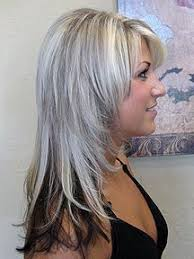 highlights to hide white hair not for me i don t like the chunky random attempt at grey very