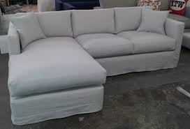 Slipcovered Sectional Sofa by Sectional Furniture Covers Sectional Sofa Covers Tips On Making