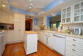 cottage kitchen island cottage kitchen with ceiling fan raised panel in clearwater fl