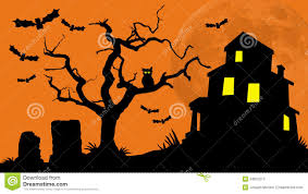 House Silhouette by Haunted House Hill Royalty Free Stock Photo Image 34807515