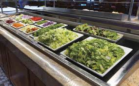 round table salad bar round table pizza salad bar images table decoration ideas