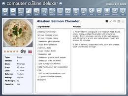 logiciel recette cuisine gratuit téléchargement gratuit computer cuisine deluxe pour mac logiciel